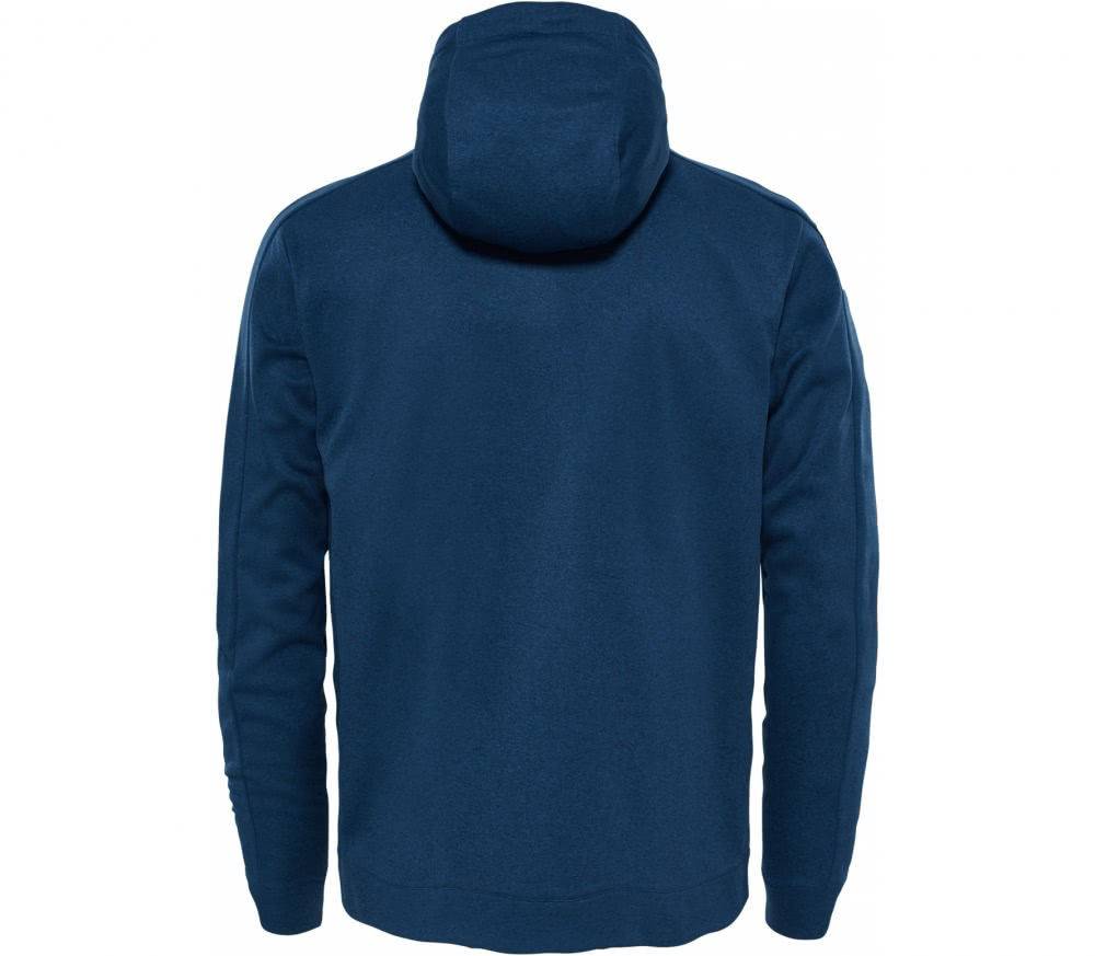the north face tansa hoodie herren fleecejacke blau im. Black Bedroom Furniture Sets. Home Design Ideas