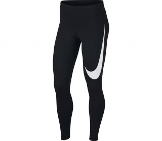 Nike - Power Damen Laufhose (schwarz)